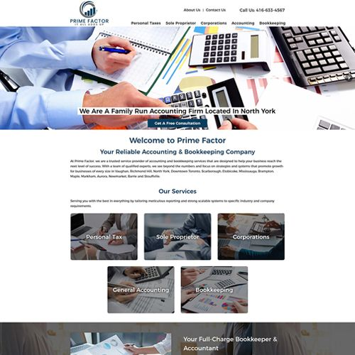 Website Design Company Oakville